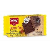 Glutensiz Gofret, Quadritos 40gr Schar