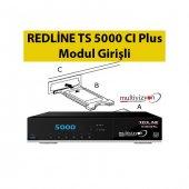 Redline Ts 5000 Cı Hd Plus Modül Girişli Uydu Alıcı