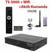 Redline Ts 5000 Cı Hd Akıllı Kumanda Wifi Anten Uydu Alıcı