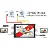 2uydulu 32çıkışlı Multiswitch Santral Seti