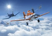 8 465 Komar Planes Above (Uçaklı) Çocuk Odası Duvar Kağıdı