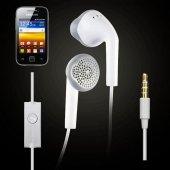 Samsung S5360 Galaxy Y Orjinal Kulaklık Kulaiçi Olmayan Klasik Samsung Telefon Kulaklığı Mikrofonlu