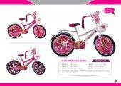 20 Jant Prenses Kız Çocuk Bisikleti (Bagajlı Kapaklı 20 35)