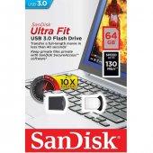 Sandisk Ultra Fit 64gb Usb 3.0 Usb Bellek (Sdcz43 064g G46)