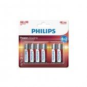 Philips Lr6p10bp 97 Alkalin Kalem Aa 8+2li Pil