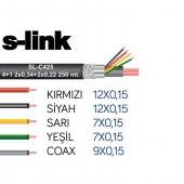 S Link Sl C425 4+1 Folyolu 250m Cctv Kablo