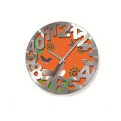 Time Gold Time Duvar Saati Çap 36 Cm Aliminyum