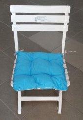 Oturma Takımı Sandalye Minderi 2li Mavi