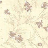 Harika Tasarım Çiçek Desenli Duvar Kağıdı Zdk9750