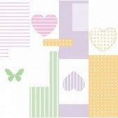 Kız Çocuk Odası Duvar Kağıdı Zdk7510