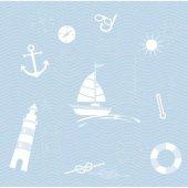 Gemili Güverteli Duvar Kağıdı Zdk7610