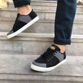 Siyah Füme Renk Günlük Ayakkabı