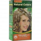 Organıc Natural Colors Saç Boyası 10c Açık Küllü Sarı