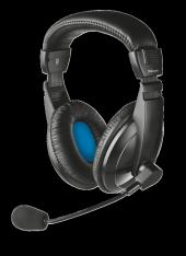 Trust 21661 Quasar Kafabantlı Mikrofonlu Kulaklık