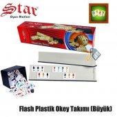 Star Flash Plastik Okey Takımı