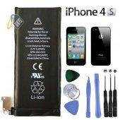 Iphone 4s Batarya + (Takma Seti) (Garantili)
