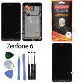 Asus Zenfone 6 Lcd Ekran Dokunmatik (Full Çıtalı)
