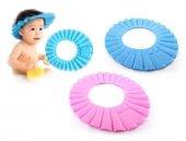 Bebek Banyo Şapkası Baby Mate Pembe