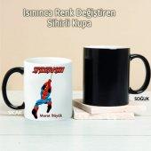 Spiderman Kişiye Özel Sihirli Kupa Tk215