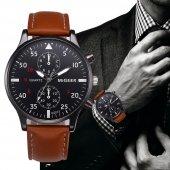 Sade Ve Şık Tasarımlı Erkek Kol Saati Bileklik Hediye Saat Ydn144