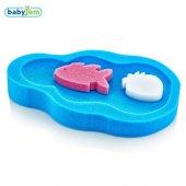 Baby Jem Küvet Süngeri Banyo Süngeri Mavi