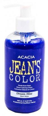Jeans Color Su Bazlı Amonyaksız Boya 250 Ml Mavi Rüya