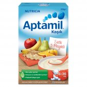Aptamil Sütlü 5 Meyveli Kaşık Maması 250 Gr
