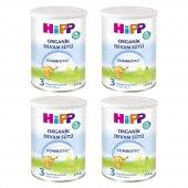 Hipp 3 Org. Combiotic 350 G 4lü Devam Sütü