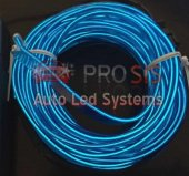 3metre Elwire İp Neon Led Fitili Mavi