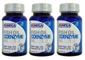 3 Kutu Iqmega Balık Yağı Omega 3 + Coenzyme Q10 (Koenzim) 60 Sftj