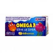 ıqmega Çocuklar İçin Omega 3 Balık Yağı 60 Softgel