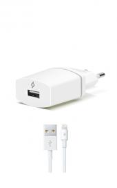 Ttec Compact Seyahat Şarj Cihazı Lightning Kablolu Beyaz