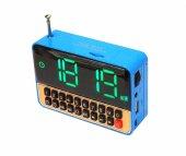 Radyolu Alarmlı Saat Usb Sd Kart Girişli Ws 1513