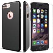 Iphone 5 5s 6 6s Plus 7 7 Plus Rubber Arka Koruma İnce Kılıf