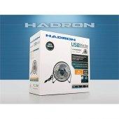 Hadron Hd2021 Büyük Boy Usb Fan Vantilatör Cyber 17 Cm Metal