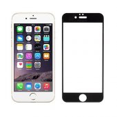 Addison Ip 853 Tempered Glass 0.3mm Siyah İphone 6s Full Cover Ca