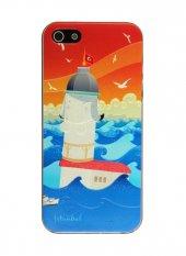 Gogo İstanbul Kız Kulesi İphone 5 5s Se Sert Tasarım Kılıf Kapak