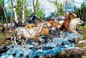 Masterpieces 500 Parça Neon Puzzle River Run