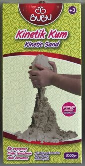 Bubu 1000 Gr Kinetik Kum (Toprak Rengi)
