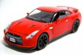 1 24 2008 Nissan Gt R (Kırmızı) Model Araba