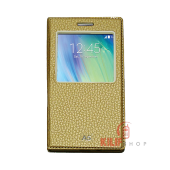 Samsung Galaxy A5 Kılıf Uykumodlu Pencereli Slim Gold 2xflim