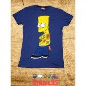 Bard Simpson Tshirt , Tişört Mavi