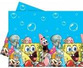 Sünger Bob Masa Örtüsü 120x180 Doğum Günü Parti Sponge Bob Ucuz