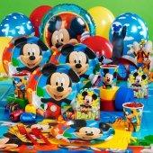 Mickey Mouse 24 Kişilik 17 Parça Doğum Günü Set Maxi