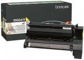 Lexmark 15g041y C752 760 762 X752 762 Mavi Toner Orjinal 6.000 Sy
