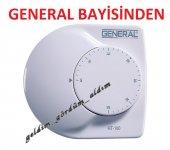 General Ht 100 Mekanik Kablolu Oda Termostatı