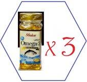 Balen Omega 3 Derin Deniz Balıkyağı 100kp 3kutu