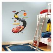 Cars Boy Cetveli Duvar Sticker 48x68 Cm