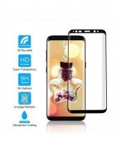Samsung Note 4 Edge,s6,s7,s8 Plus Kavisli Tam Ekran Koruyucu Cam