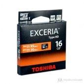 Toshiba 16gb Mıcro Sdhc Excerıa Hd Uhs 1 Class 10 (95 Mb Sn)